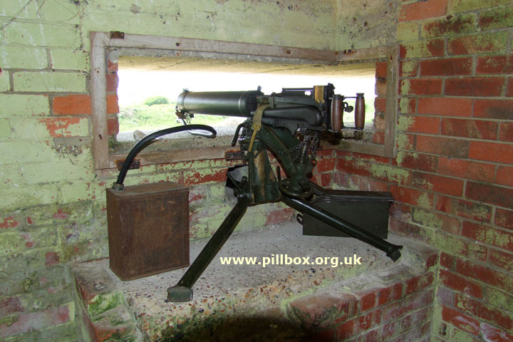 With a Vickers Gun to Cuckmere