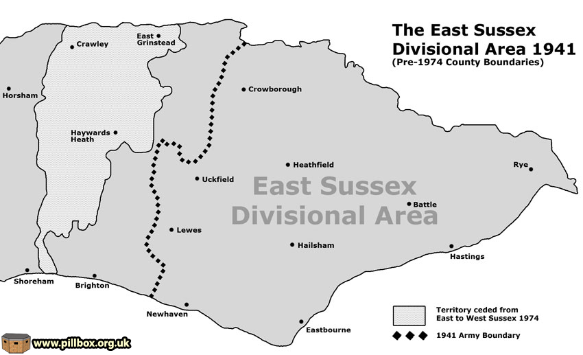 About the Defence of East Sussex Project